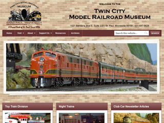 TCMRM New Website Design