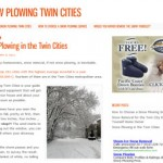 New Website Launched: Snow Plowing Twin Cities